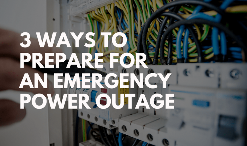 How To Prepare For An Emergency Power Outage